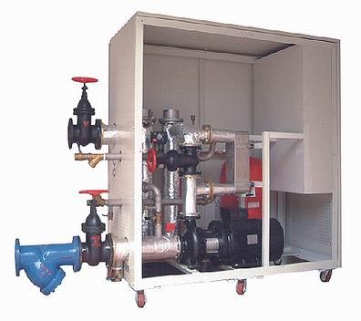 中央热水温度控制设备;热水控温机;水温加热器