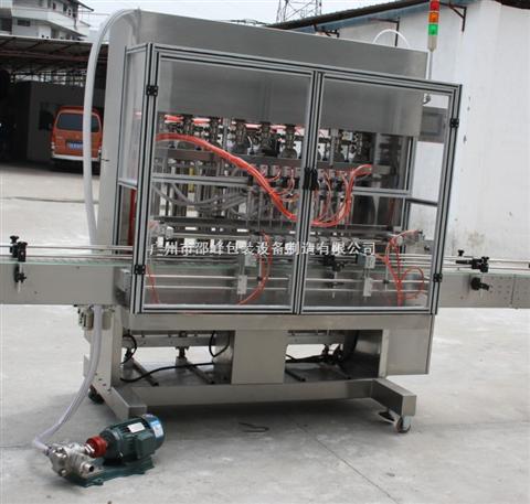 全自动伺服液体灌装机