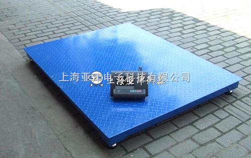 上海磅秤_3吨电子磅3吨单层地磅秤价格